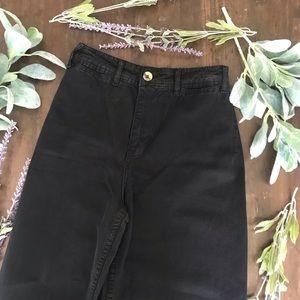 Free People High Waist Crop Flare Pants 24